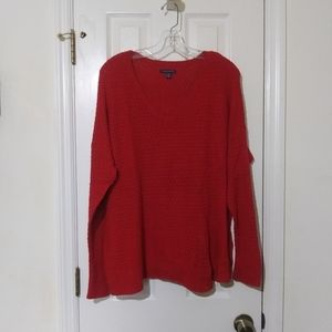 American Eagle red sweater in excellent condition